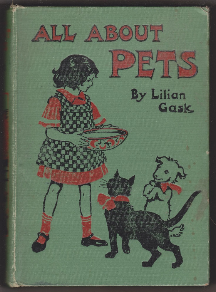 All About Pets, Told in Stories, Gask, Lillian
