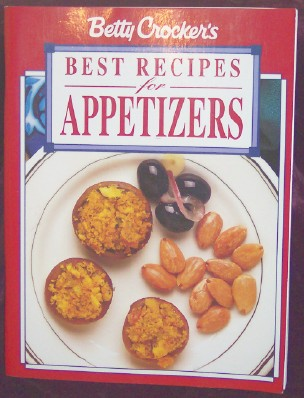 Betty Crocker's Best Recipes for Appetizers, Crocker, Betty