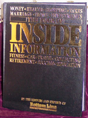 The Book of Inside Information, the editors and experts of Bottom Line Personal