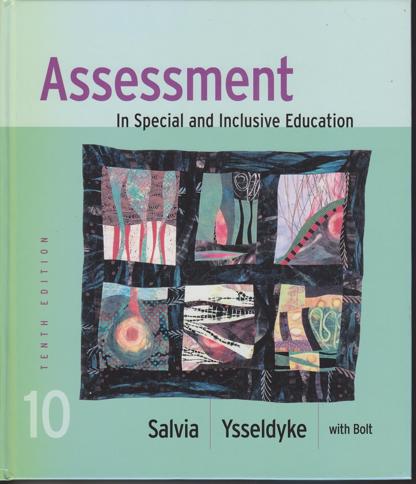 Assessment In Special and Inclusive Education., Ysseldyke, Salvia; Bolt, Sara.