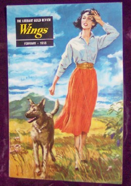 The Literary Guild Review, WINGS, February 1956, Packer, Joy
