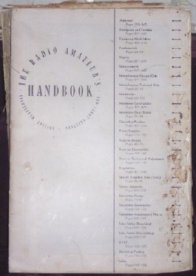 The Radio Amateur's Handbook, Eighteenth Edition, Nineteen-Forty-One, The Headquarters Staff of the American Radio Relay League