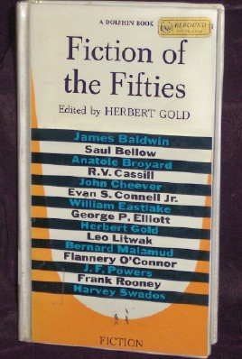 Fiction of the Fifties, Gold, Herbert, Editor