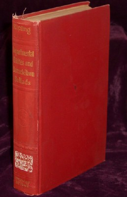Departmental Ditties and Ballads and Barrack Room ballads by Rudyard Kipling, Kipling, Rudyard