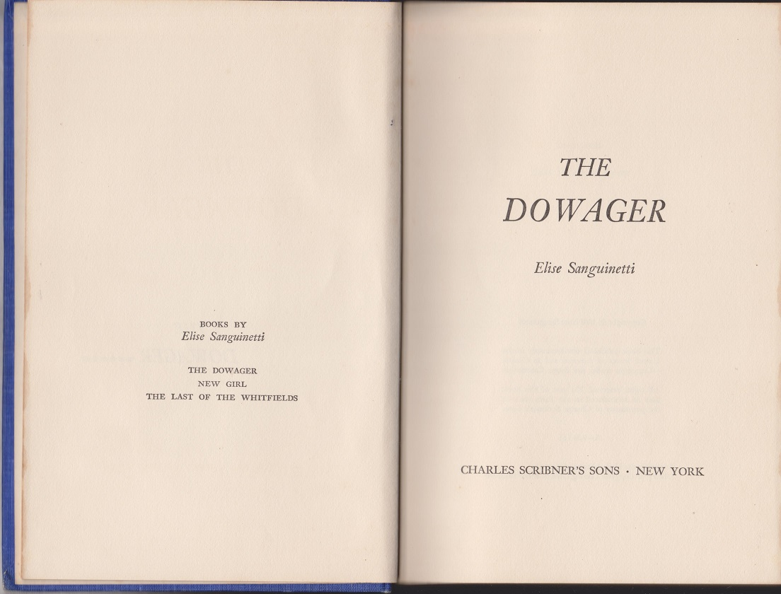 Image for The Dowager