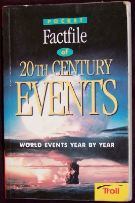 Pocket Factfile of 20th Century Events, Gold, Fiona, project editor