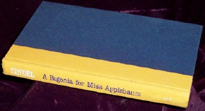 A Begonia for Miss Applebaum, Zindel, Paul