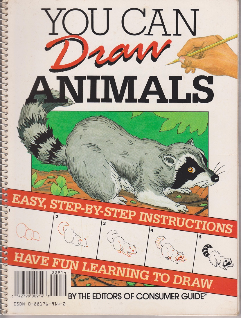You Can Draw Animals, the editors of Consumer Guide