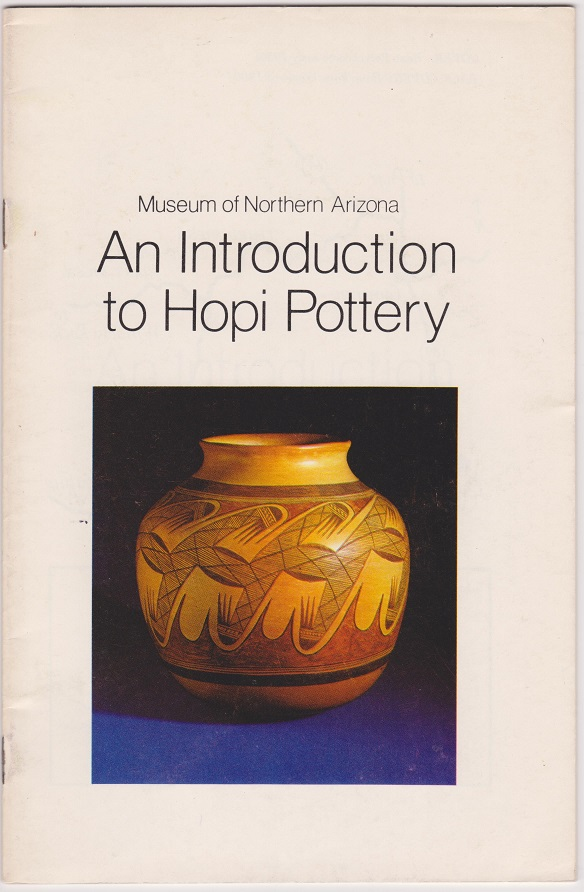 An Introduction to Hopi Pottery, Harlow, Francis H.