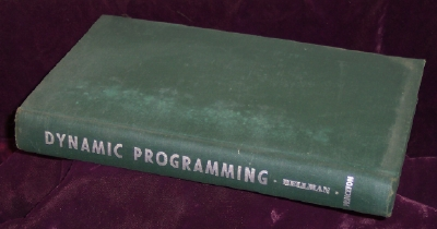 Dynamic Programming, Bellman, Richard