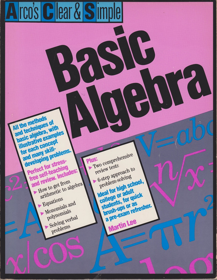 Basic Algebra, Lee, Martin