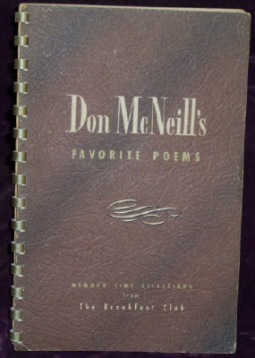 Don McNeill's Favorite Poems, McNeill, Don