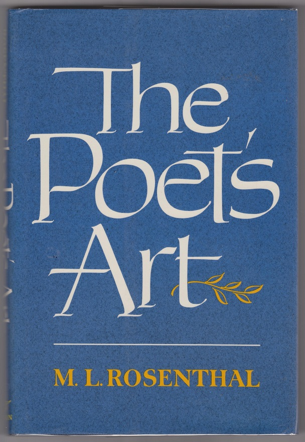 The Poet's Art, Rosenthal, Macha Louis