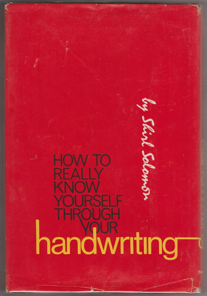 Image for how to really know yourself through your handwriting