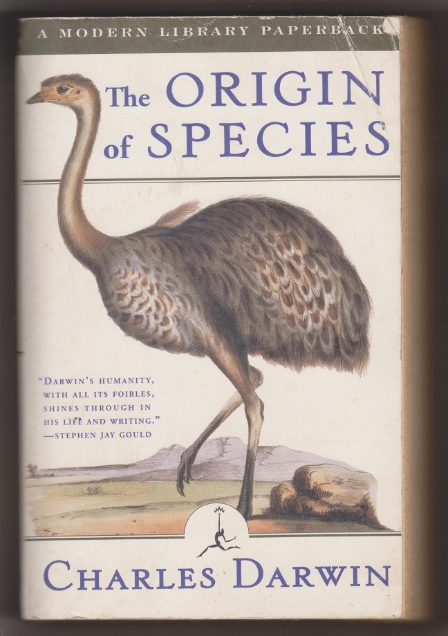The Origin of the Species, Darwin, Charles