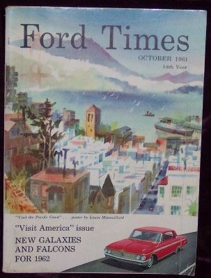 Ford Times, Vol.54, No. 10, October 1961, Dykeman, C.H., Editor-in-chief