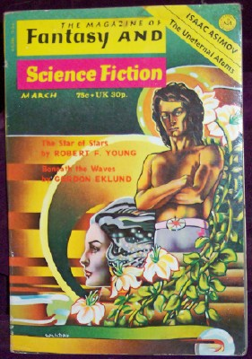 Fantasy and Science Fiction, March 1974, Ferman, Edward L., editor