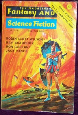 Fantasy and Science Fiction, June 1973, Ferman, Edward L., editor