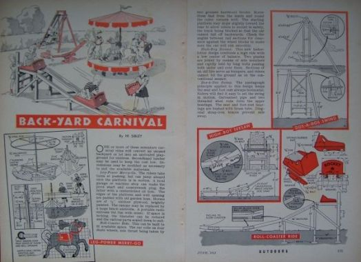 Backyard Roller Coaster Plans : Check out our other vintage plans, each additional purchase ships for