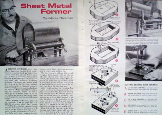 How To Build A Slip Roll Sheet Metal Former Forming