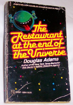 The Restaurant at the end of the Universe, Adams, Douglas